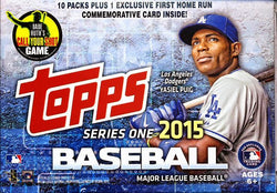 2015 Topps Series 1 Jumbo Baseball Box