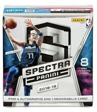 2018-19 Panini Spectra Basketball 8-Box Case