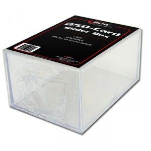 BCW 250-CARD SLIDER BOX