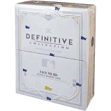 2019 Topps Definitive Baseball Box