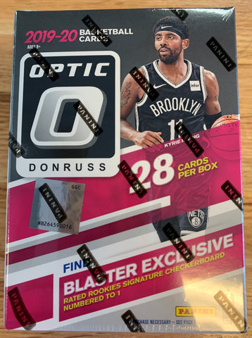 2019-20 Panini Optic Basketball Retail Blaster Box