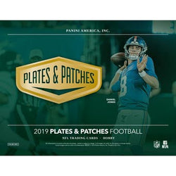 2019 Panini Plates and Patches Football 12-Box Case