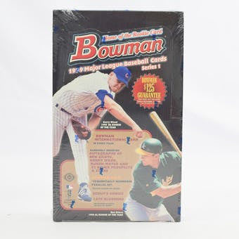 1999 Bowman Baseball Series 1 Box