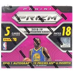 2018-19 Panini Prizm Fast Break Basketball Box
