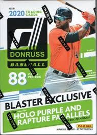 2020 Panini Donruss Baseball Blaster Box