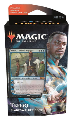 Magic The Gathering Core Set 2021 Planeswalker Deck - Teferi