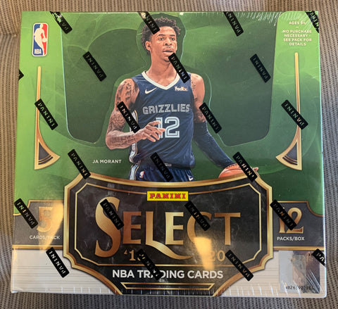 2019-20 Panini Select Basketball Box