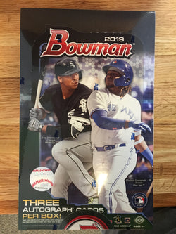 2019 Bowman Baseball Jumbo Pack