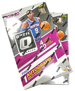2019-20 Panini Optic Basketball Hobby 12-Box Case
