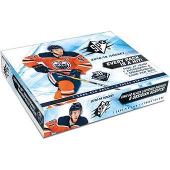 2018-19 Upper Deck SPX Hockey 10-box Inner Case