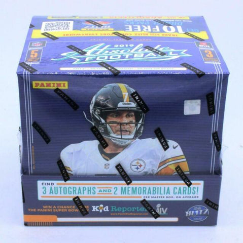 2019 Panini Absolute Football 12-Box Master Case