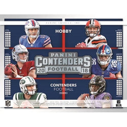 2018 Panini Contenders Football Hobby 12-Box Case
