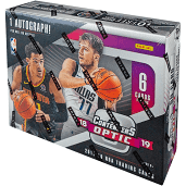 2018-19 Panini Contenders Optic Basketball 10-Box Case