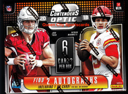 2018 Panini Contenders Optic Football 10-box Inner Case