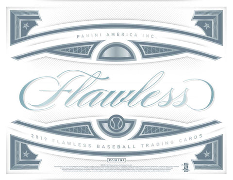 2019 Panini Flawless Baseball Case