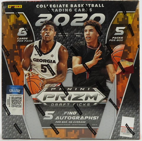 2020-21 Panini Prizm Draft Picks Collegiate Basketball Hobby Box