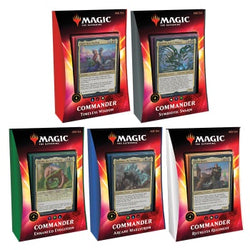 Magic The Gathering Ikoria Commander 2020 Five Deck Set