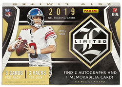2019 Panini Limited Football 14-Box Case