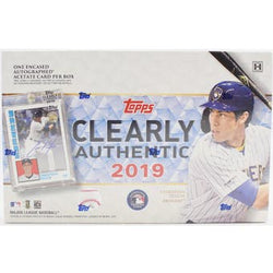 2019 Topps Clearly Authentic Baseball 20-Box Case