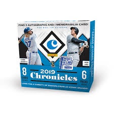 2019 Panini Chronicles Baseball First Off The Line FOTL Box