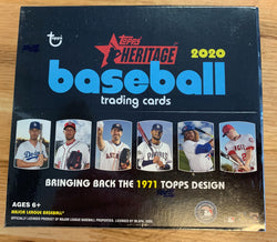 2020 Topps Heritage Baseball Retail Box