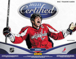 2012-13 Panini Certified Hockey Box
