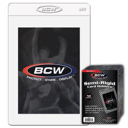 BCW SEMI-RIGID GRADED CARD HOLDERS BOX (200)