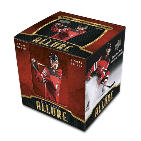 2019-20 Upper Deck Allure Hockey 20-Box Master Case