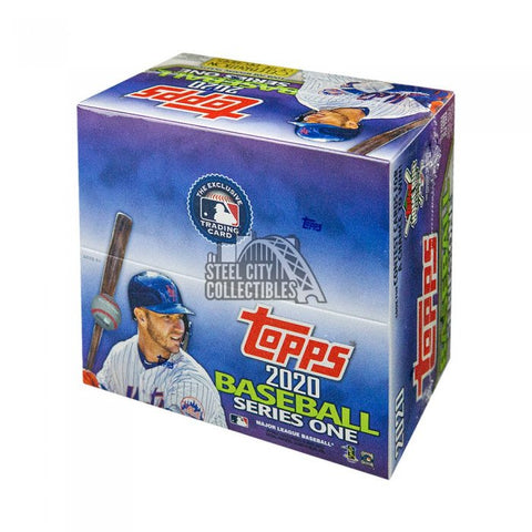 2020 Topps Series 1 Baseball Jumbo 6-Box Case