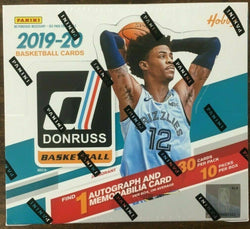 2019-20 Panini Donruss Basketball Hobby Box