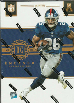 2018 Panini Encased Football Box