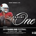 2019 Panini One Football 20-Box Master Case