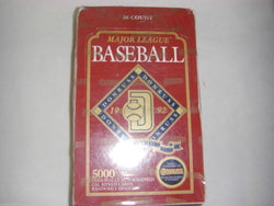 1992 Donruss Series 2 Baseball Box