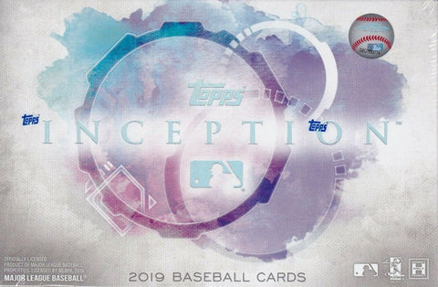2019 Topps Inception Baseball 16-Box Case