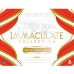 2019 Panini Immaculate Football 6-Box Case