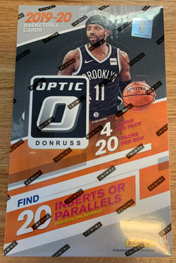 2019-20 Panini Optic Basketball Retail Box