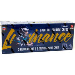 2020 Panini Luminance Football Hobby Box