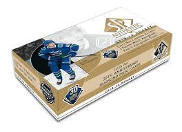 2018-19 Upper Deck SP Authentic Hockey Box