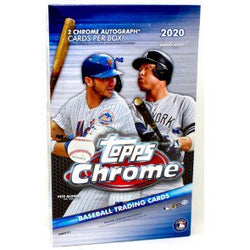 2020 Topps Chrome Hobby Baseball Box