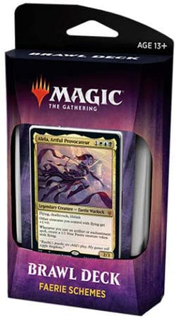 Magic The Gathering Throne of Eldraine Brawl Deck - FAERIE SCHEMES