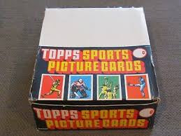 1988 Topps Baseball Rack Pack Box