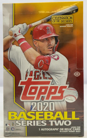 2020 Topps Series 2 Hobby Baseball Box