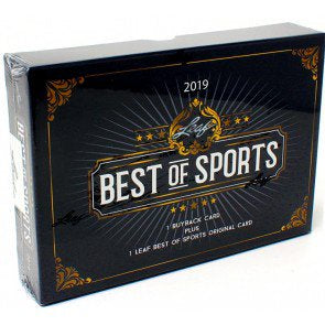 2019 Leaf Best of Sports Box