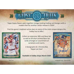 2020 Topps Gypsy Queen Baseball Hobby Case