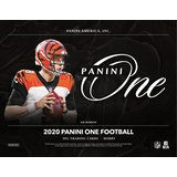 2020 Panini One Football Hobby - 10 Box Inner Case