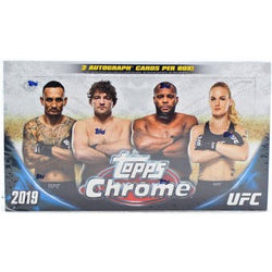2019 Topps Chrome UFC Hobby 12-Box Case