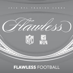 2018 Panini Flawless Football 2-Box Case