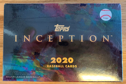 2020 Topps Inception Baseball 16-Box Case