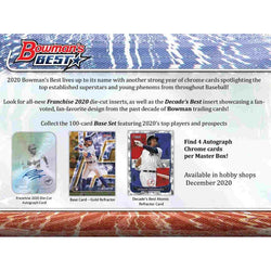 2020 Bowmans Best Baseball Hobby Box