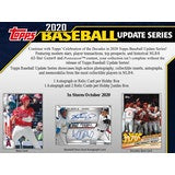 2020 Topps Update Series Baseball Jumbo - 6 Box Case